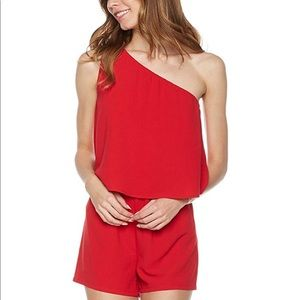 Plumberry Red Romper